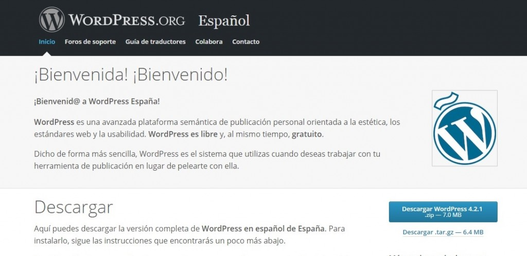 Crear un Blog con WordPress.org