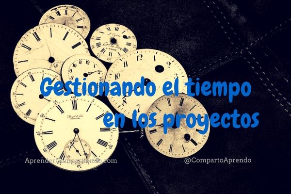 Gestionando el tiempo en los proyectos