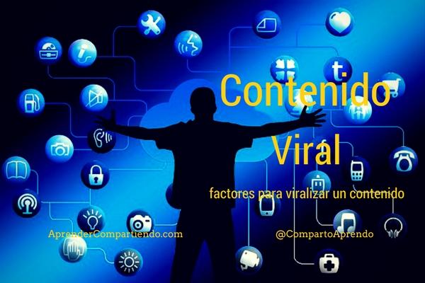 Contenido Viral, factores para viralizar un contenido